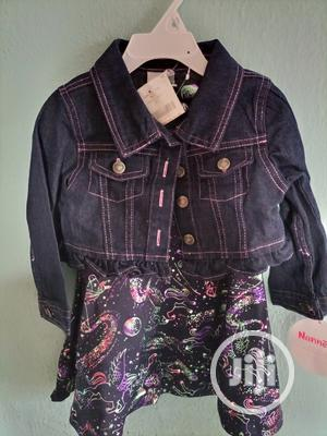 Nannette 2pieces, Demin Jean and a Dress | Children's Clothing for sale in Lagos State, Isolo