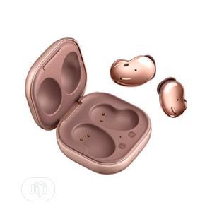 Samsung Galaxy Bud Live- Wireless Earbuds - Mystic Bronze | Headphones for sale in Lagos State, Ikeja