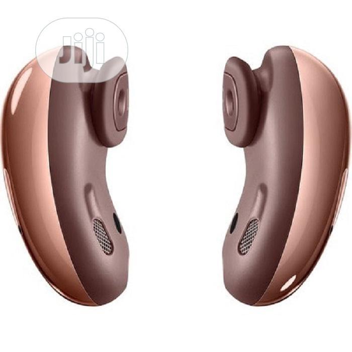 Samsung Galaxy Bud Live- Wireless Earbuds - Mystic Bronze | Headphones for sale in Ikeja, Lagos State, Nigeria