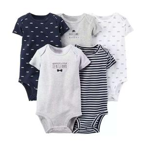 5PC Baby Boy Clothes Short Sleeve Baby Clothing | Children's Clothing for sale in Lagos State, Abule Egba