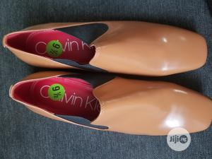 New Calvin Klein Geneve Loafers Brown Square Toe Shoe   Shoes for sale in Lagos State, Isolo