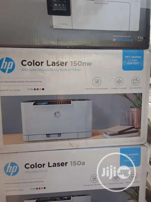 HP Color Laser 150nw Wireless Printer   Printers & Scanners for sale in Lagos State, Ikeja