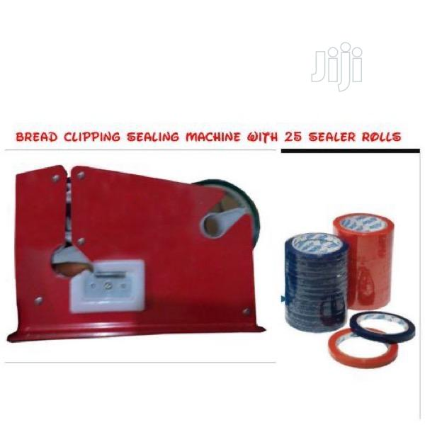 Bread Nylon Knot Clipping Sealing Machine Fold | Manufacturing Equipment for sale in Port-Harcourt, Rivers State, Nigeria