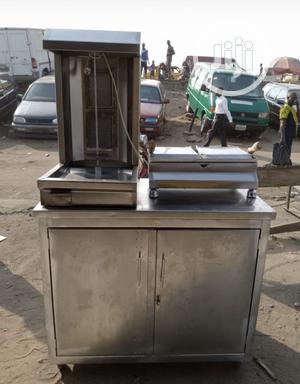 Local Shawarma Machine With Toaster | Restaurant & Catering Equipment for sale in Lagos State, Ojo