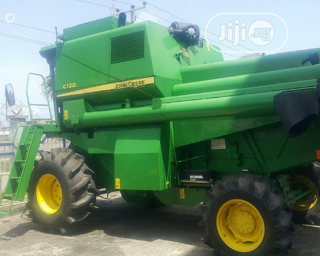 Archive: Brand New John Deere C120 Combine Harvester