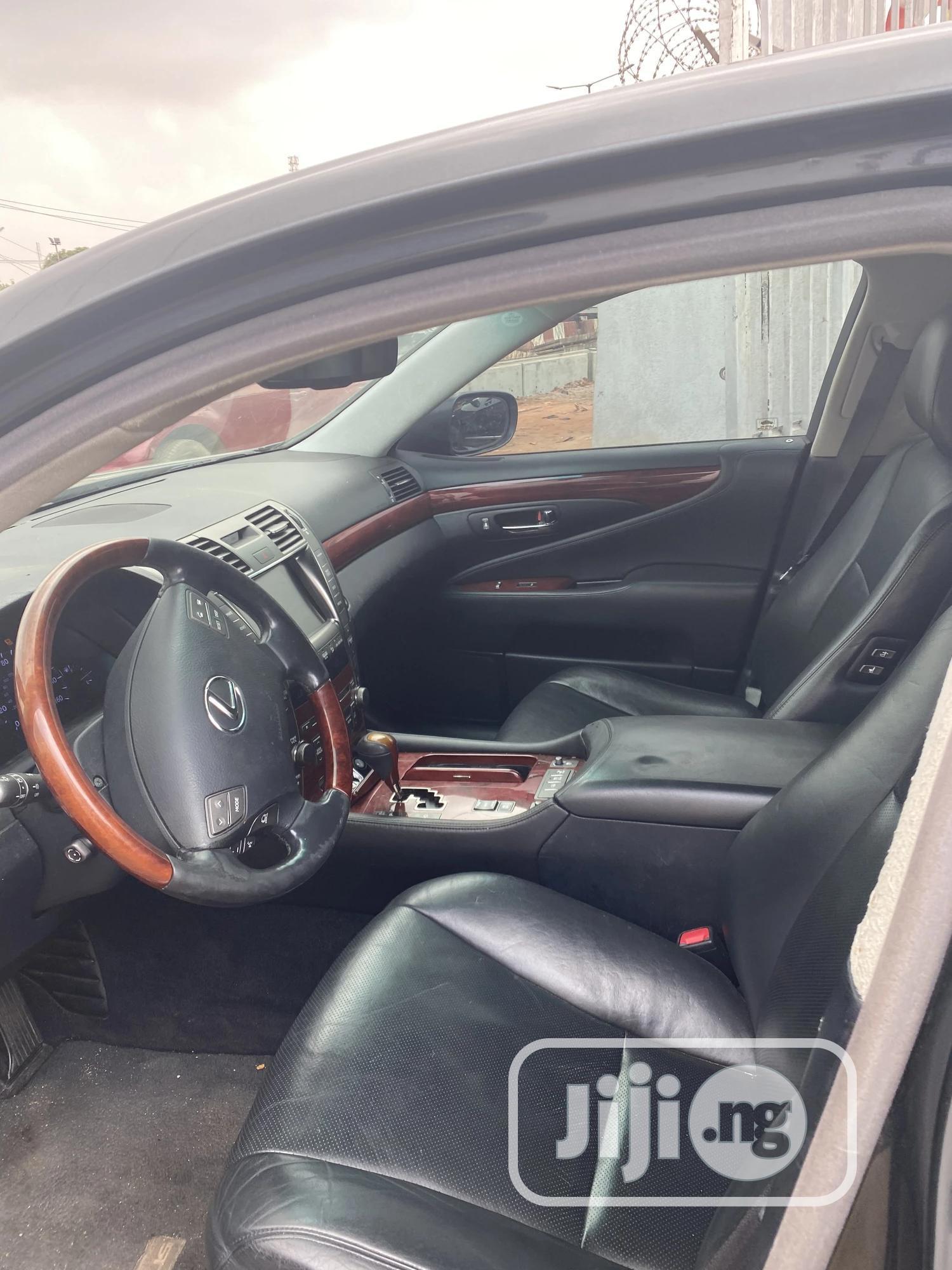 Lexus LS 2009 460 L Gray | Cars for sale in Ajah, Lagos State, Nigeria
