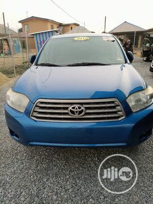 Toyota Highlander 2010 SE Blue   Cars for sale in Lagos State, Alimosho