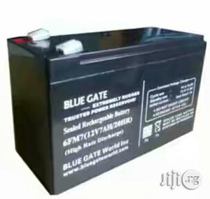 Blue Gate 7ah 12V UPS Replacement Battery | Electrical Equipment for sale in Lagos State, Ikeja