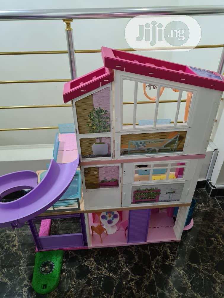 Archive: Neatly Used Barbie 3 Storey Doll House