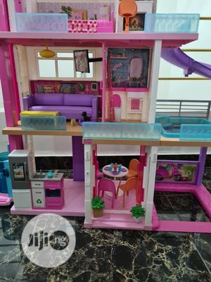 Neatly Used Barbie 3 Storey Doll House   Toys for sale in Lagos State, Lekki