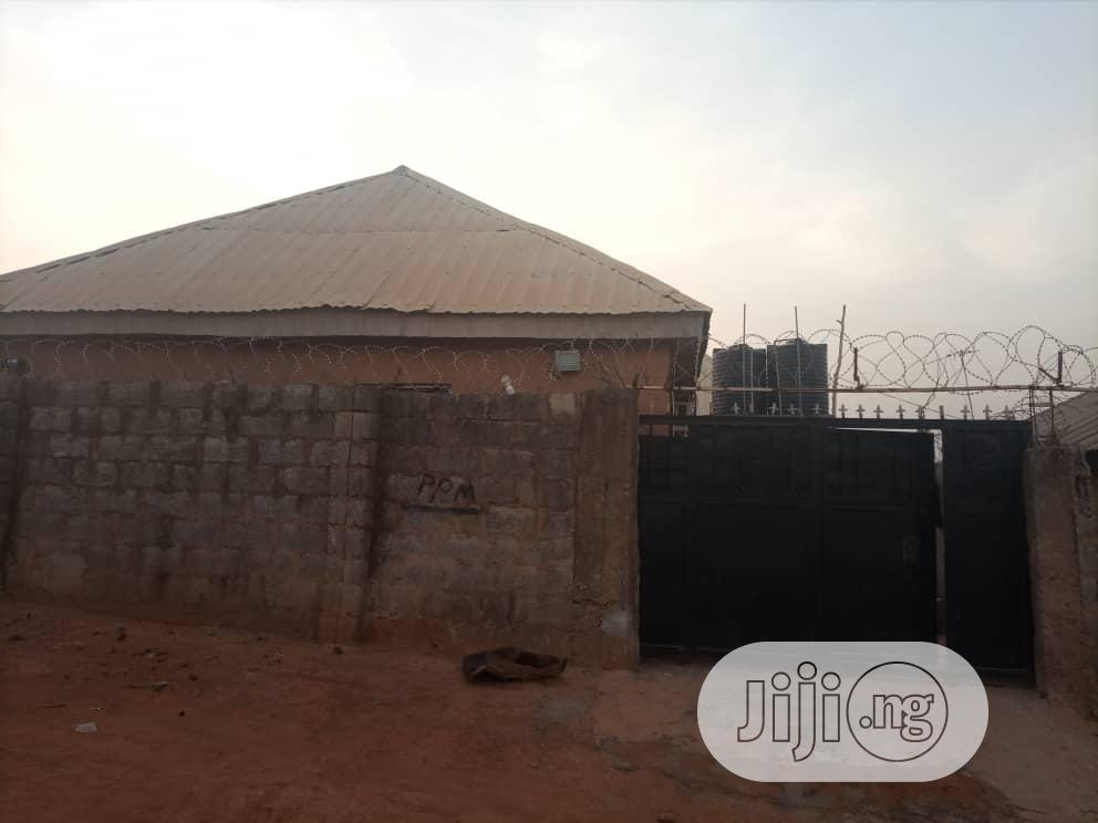 Archive: 2 Bedroom Flat With Attached 3 Self Contain Units for Sale