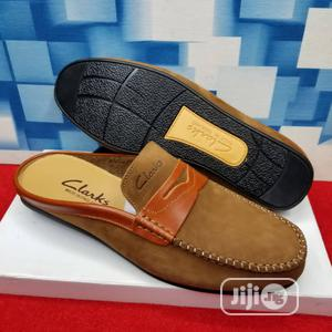 Clarks Suede Half Loafers | Shoes for sale in Lagos State, Lagos Island (Eko)