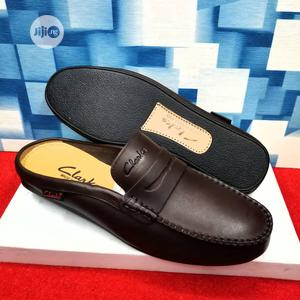 Clarks Leather Half Loafers | Shoes for sale in Lagos State, Lagos Island (Eko)