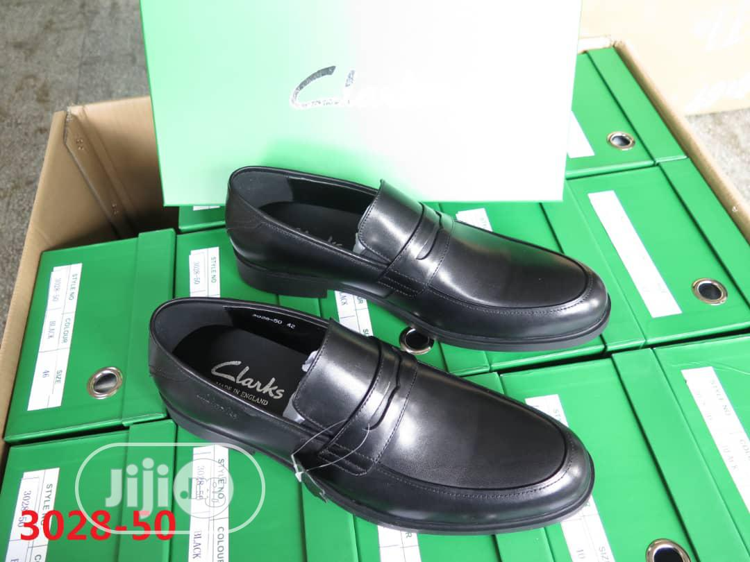 Clarks Luxury Leather Loafers