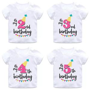 Birthday Number T-Shirts No 1-9 | Children's Clothing for sale in Lagos State, Alimosho