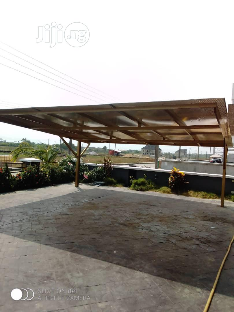 Carports/Danpalon/ Polycarbonate Sheet/ Carport Engineer   Building & Trades Services for sale in Ajah, Lagos State, Nigeria