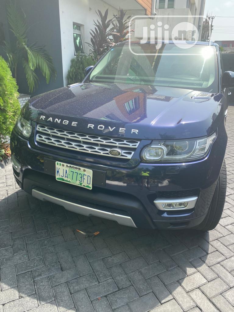 Land Rover Range Rover Sport 2016 Blue