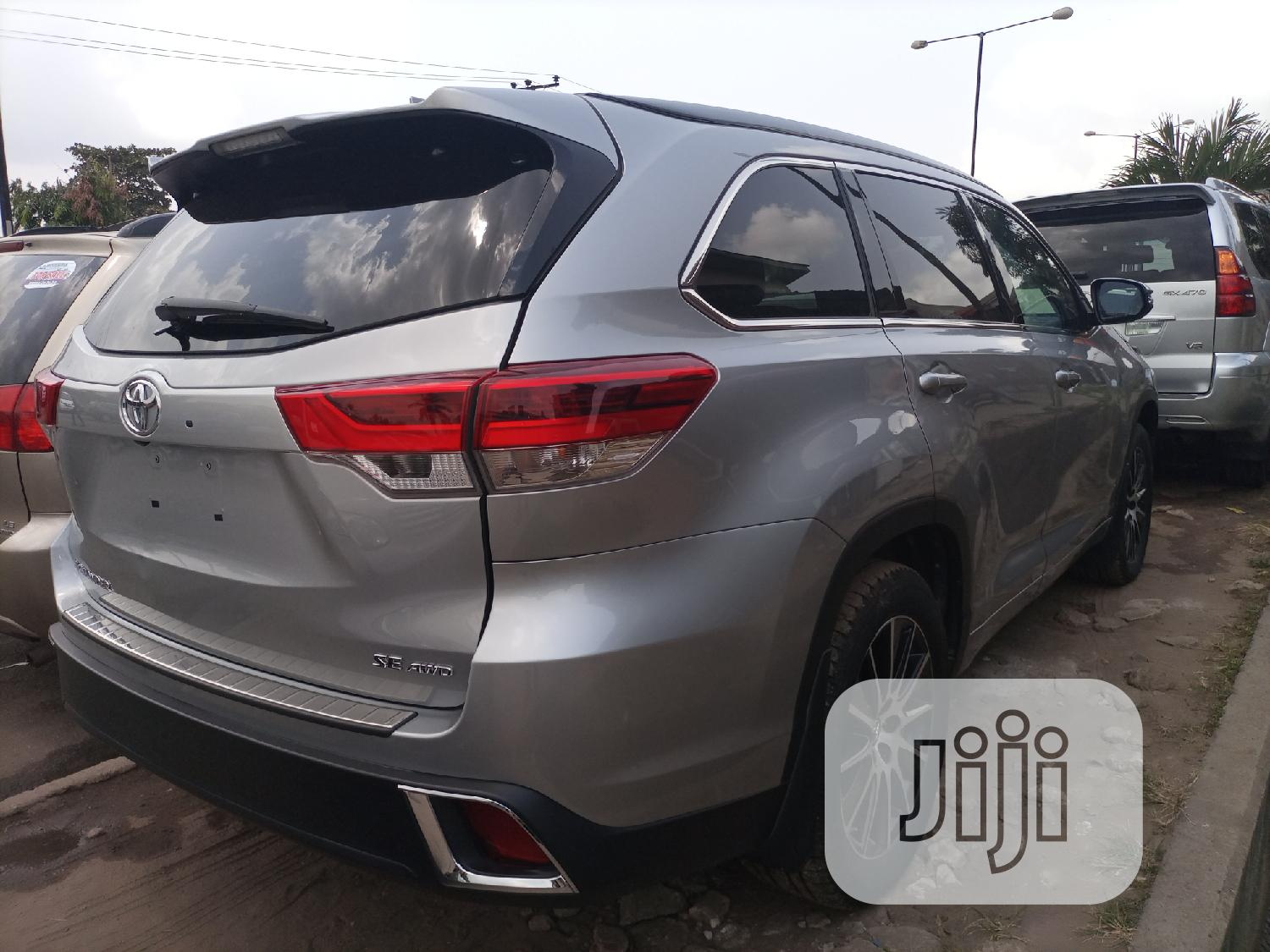Toyota Highlander 2018 Gray | Cars for sale in Ikeja, Lagos State, Nigeria