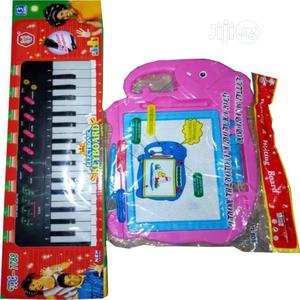 Children Toy Guitar And Writing Drawing Board   Toys for sale in Lagos State, Lagos Island (Eko)