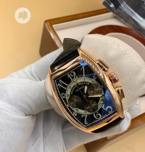 Franck Muller Men's Leather Wristwatch   Watches for sale in Lagos State, Surulere