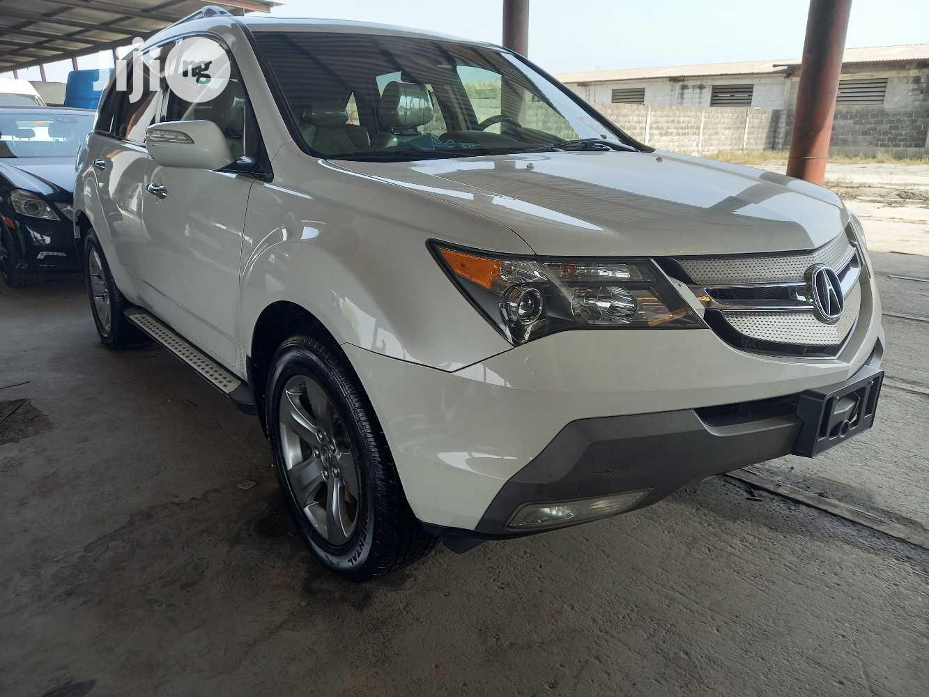 Acura MDX 2008 SUV 4dr AWD (3.7 6cyl 5A) White   Cars for sale in Apapa, Lagos State, Nigeria