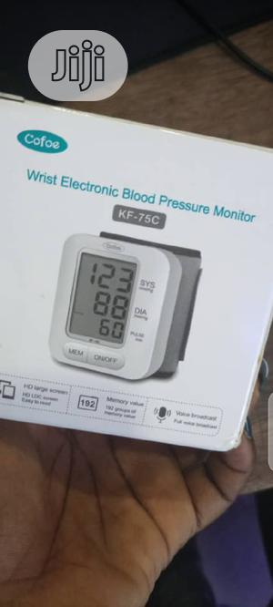 Wrist Electronic Blood Pressure Monitor | Medical Supplies & Equipment for sale in Lagos State, Ikeja