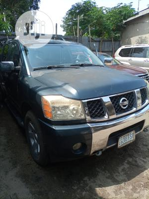 Nissan Armada 2005 4x4 SE Off-Road Blue | Cars for sale in Lagos State, Apapa