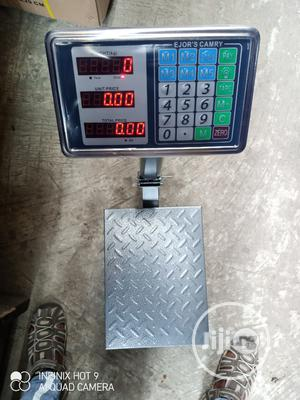 100kg Camry Digital Platform Scale Double Face Display | Store Equipment for sale in Lagos State, Lagos Island (Eko)