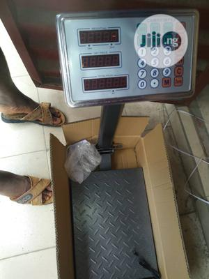 100kg Camry Impex Digital Platform Scale Double Display | Store Equipment for sale in Lagos State, Lagos Island (Eko)