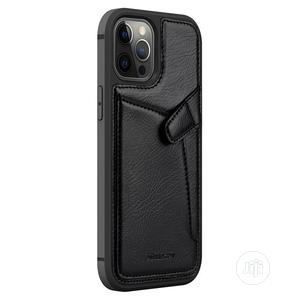 Leather Cover Case for Apple iPhone 12/Pro/Max | Accessories for Mobile Phones & Tablets for sale in Lagos State, Ikeja