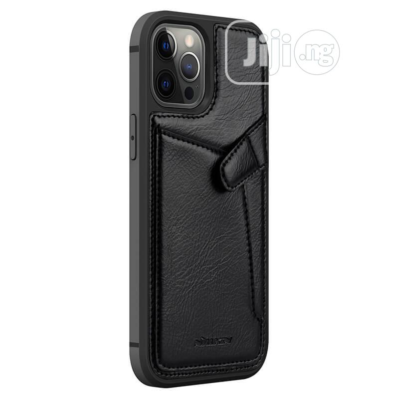 Leather Cover Case for Apple iPhone 12/Pro/Max