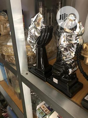 Gold and Black Ceramic Figurine | Home Accessories for sale in Lagos State, Lekki