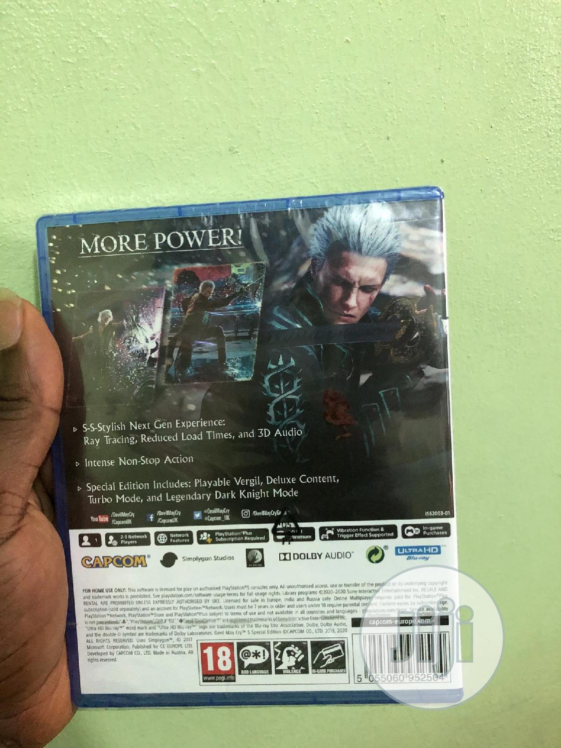 Devil May Cry 5   Video Games for sale in Ikeja, Lagos State, Nigeria