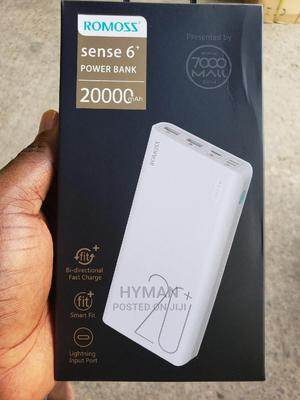 Sense 6 20000mah Romoss Power Bank | Accessories for Mobile Phones & Tablets for sale in Lagos State, Ikeja
