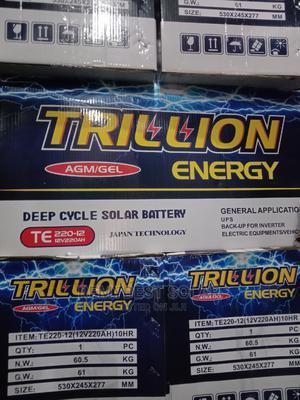 12V 200ahs Trillion Solar Battery | Solar Energy for sale in Lagos State, Ojo