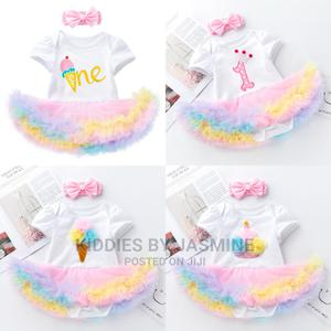 Baby Girl Romper Tutu With Headband   Children's Clothing for sale in Lagos State, Alimosho