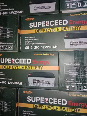 12V 200ahs Superceed Solar Battery | Solar Energy for sale in Lagos State, Ojo