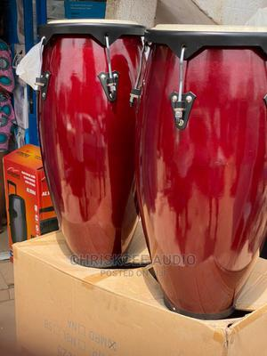 Conga Drum Pair With Stand | Musical Instruments & Gear for sale in Lagos State, Ojo
