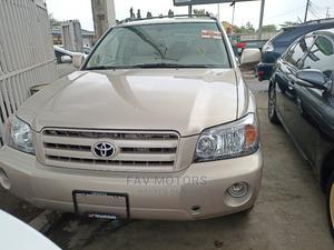 Toyota Highlander 2005 Limited V6 Gold   Cars for sale in Lagos State, Ikeja