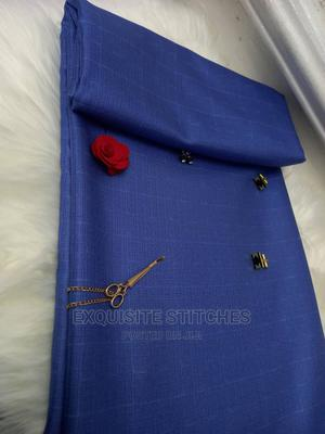Blue Senator Material-4 Yards | Clothing for sale in Lagos State, Ojodu