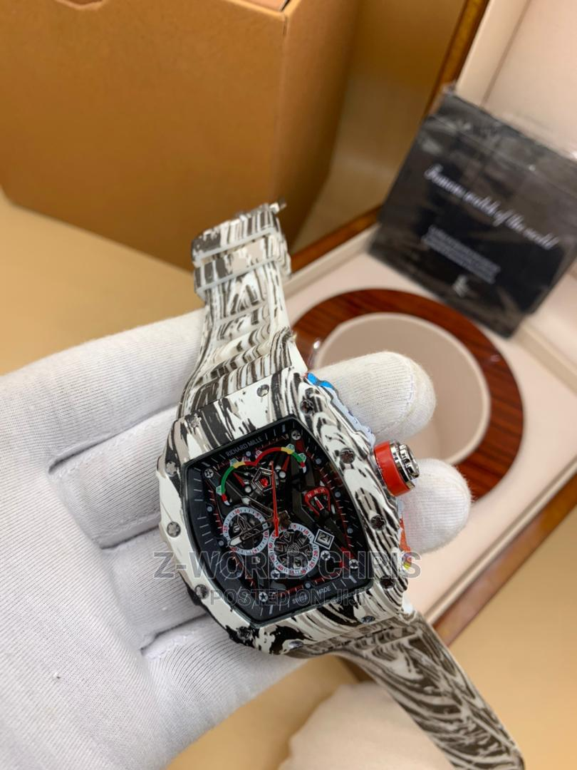 Richard Mille Men's Rubber Wristwatch | Watches for sale in Surulere, Lagos State, Nigeria