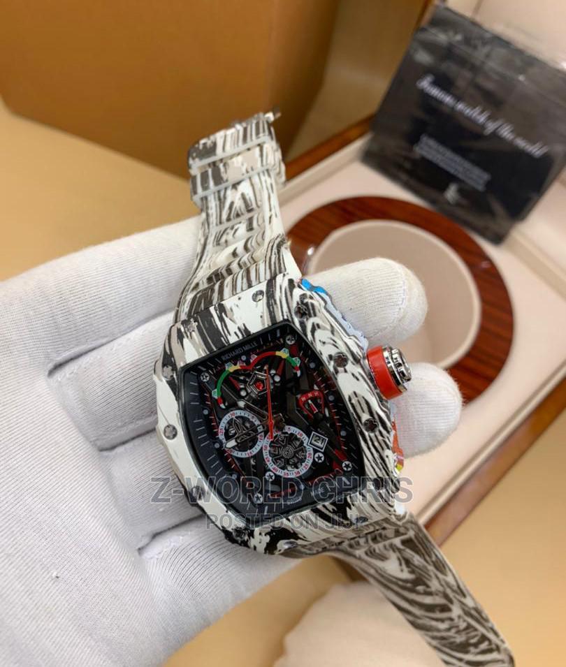Richard Mille Men's Rubber Wristwatch