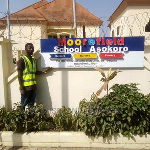 Graphic Design Signage Works on Site | Manufacturing Services for sale in Abuja (FCT) State, Central Business District