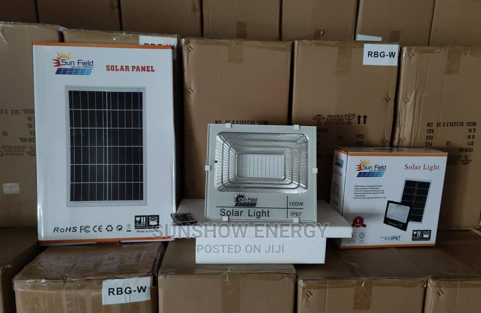 Archive: 100w Solar Security Flood Lights