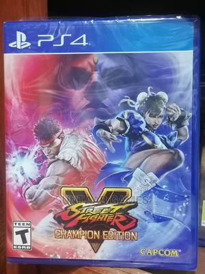 Street Fighter v Champion Edition (PS4) | Video Games for sale in Lagos State, Lagos Island (Eko)