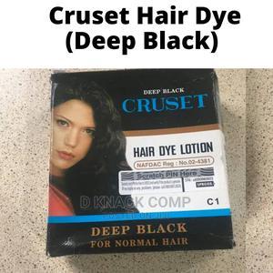 Cruset Hair Dye (Deep Black) | Hair Beauty for sale in Lagos State, Ikotun/Igando