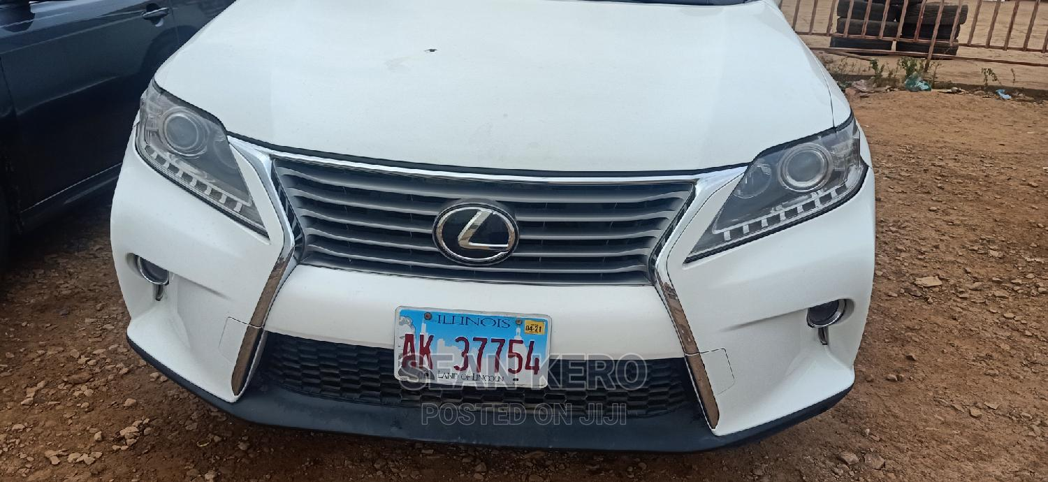 Lexus RX 2013 350 AWD White | Cars for sale in Egbeda, Oyo State, Nigeria