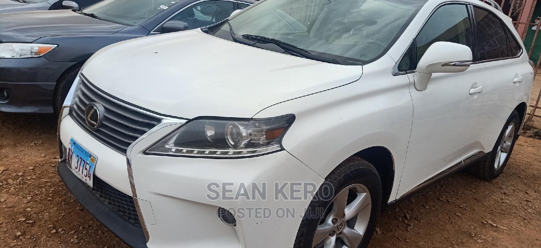 Lexus RX 2013 350 AWD White