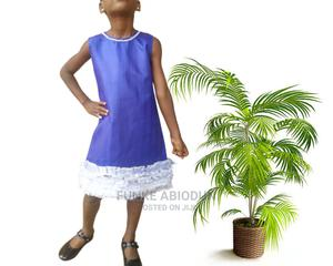 Morire Embellished Ruffle Dress - Blue | Children's Clothing for sale in Lagos State, Ikorodu