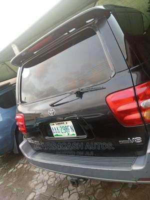 Toyota Sequoia 2002 Black   Cars for sale in Lagos State, Isolo